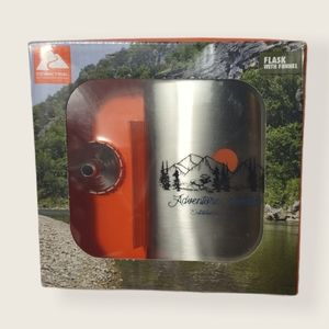 Ozark Trail Flask with Funnel